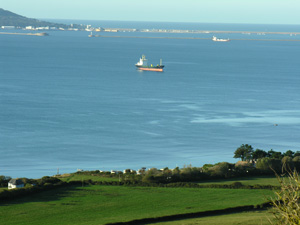 Marren - Exceptional Bed and Breakfast by the sea in Dorset - ship in weymouth bay